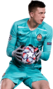 Anatoliy Trubin football render