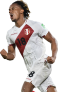 André Carrillo football render
