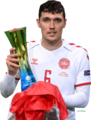 Andreas Christensen football render
