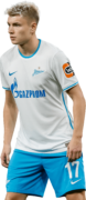 Andrey Mostovoy football render