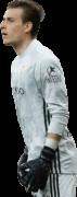 Andriy Lunin football render