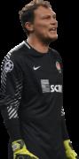 Andriy Pyatov football render