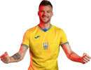 Andriy Yarmolenko football render