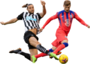 Andy Carroll & Timo Werner football render