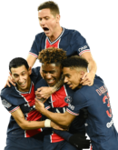 Angel Di Maria, Ander Herrera, Timothée Pembélé & Colin Dagba football render