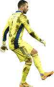 Anthony Lopes football render