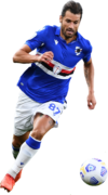Antonio Candreva football render