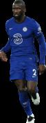 Antonio Rüdiger football render