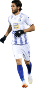 Aref Gholami football render
