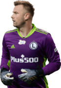 Artur Boruc football render