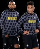 Arturo Vidal & Lautaro Martinez football render