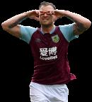 Ashley Barnes football render