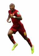 Andre Ayew football render