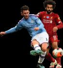 Aymeric Laporte & Mohamed Salah football render
