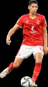 Badr Benoun football render