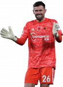 Ben Foster football render