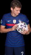 Benjamin Pavard football render
