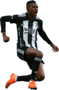 Bernard Mensah football render