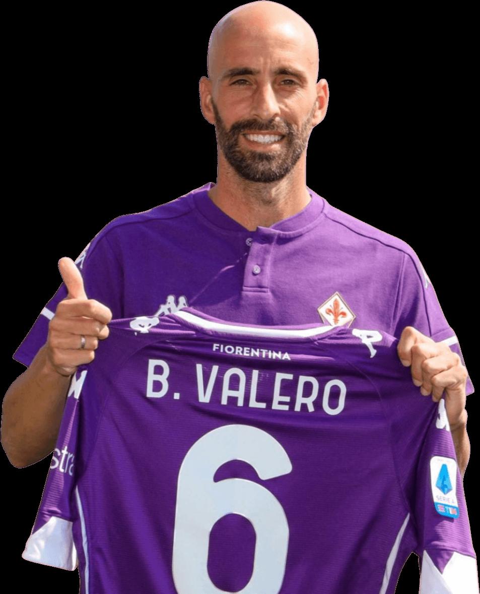 Borja Valero football render - 71902 - FootyRenders