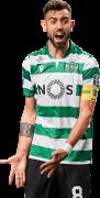 Bruno Fernandes football render