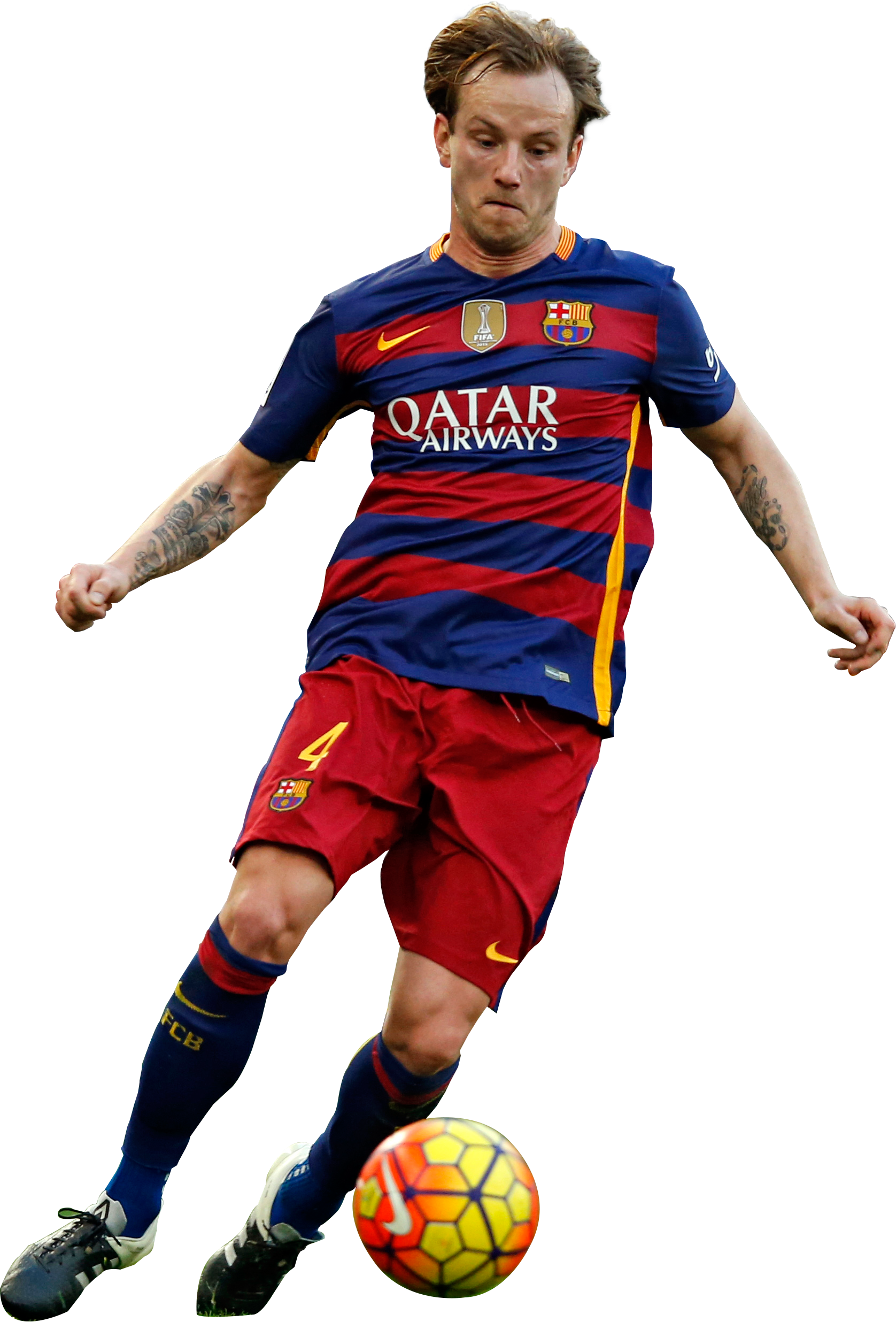 Ivan Rakitic football render FootyRenders