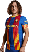 Carles Puyol football render