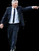 Carlo Ancelotti football render