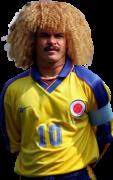 Carlos Valderrama football render