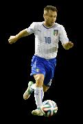 Antonio Cassano football render