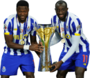 Chancel Mbemba & Moussa Marega football render