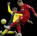 Christian Kabasele & Roberto Firmino football render