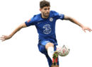 Christian Pulisic football render