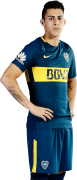 Cristian Pavón football render