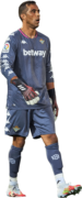 Claudio Bravo football render