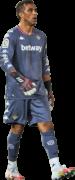 Claudio Bravo football render