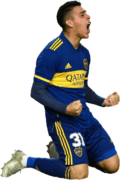 Cristian Pavon football render