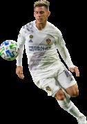 Cristian Pavón football render