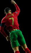 Cristiano Ronaldo football render