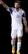 Giorgos Oikonomidis football render