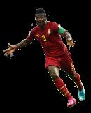 Asamoha Gyan football render