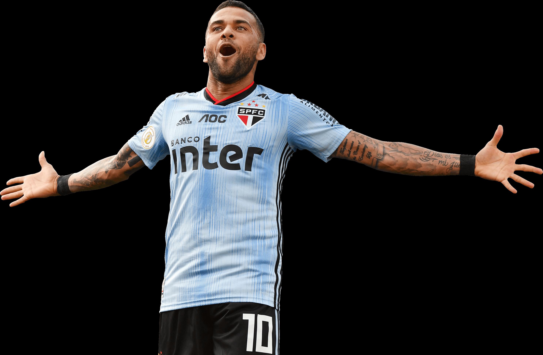 Dani Alves football render - 67849 - FootyRenders