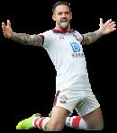 Danny Ings football render