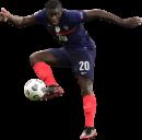 Dayot Upamecano football render