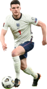 Declan Rice football render