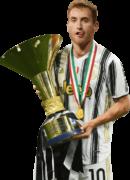 Dejan Kulusevski football render
