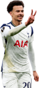 Dele Alli football render