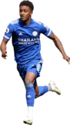 Demarai Gray football render