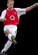 Dennis Bergkamp football render