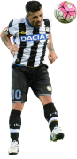 Antonio Di Natale football render