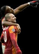 Didier Drogba & Wesley Sneijder football render